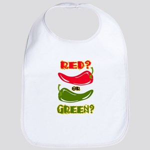 RED? OR GREEN? Bib