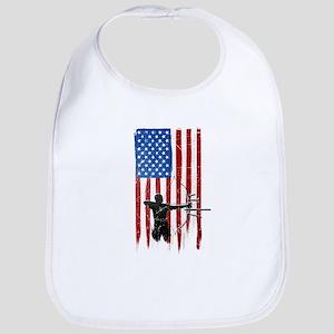USA Flag Team Archery Bib