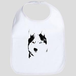 Husky Gifts Bi-Eye Husky Shirts & Gifts Bib
