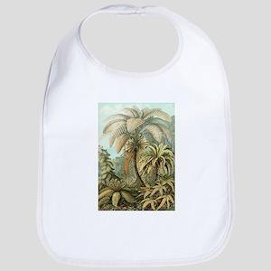 Vintage Tropical Palm Bib