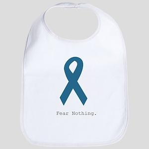 Fear Nothing. Teal Rib Bib