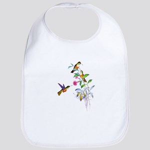 Hummingbirds Bib