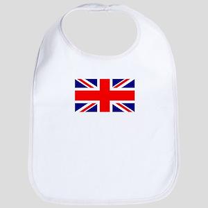 UK Flag Snap Bib