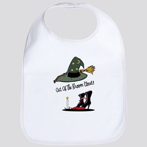 Out of the Broom Closet Bib