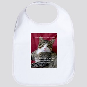 Cat Meme Bib