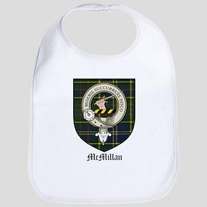 McMillan Clan Crest Tartan Bib