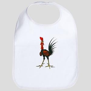 Crazy Rooster Bib