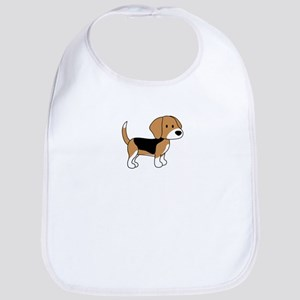 Cute Beagle Bib