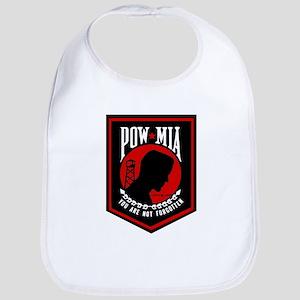 POW MIA (Red) Bib