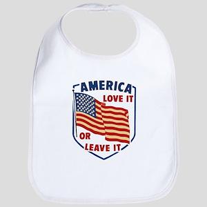 America Love it Bib