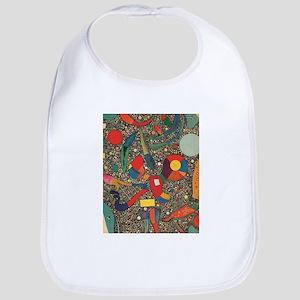 Colorful Ensemble Baby Bib
