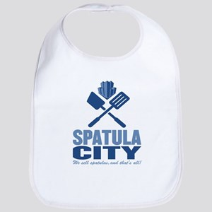 spatula city Bib