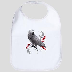 African Grey Parrot Baby Bib