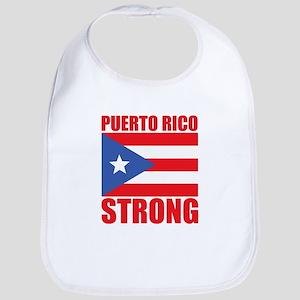 puerto rico strong Baby Bib