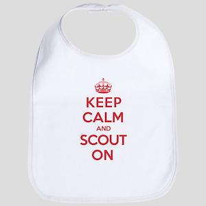Keep Calm Scout Bib