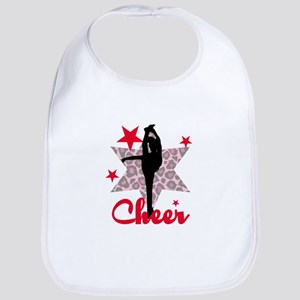 Red Cheerleader Bib