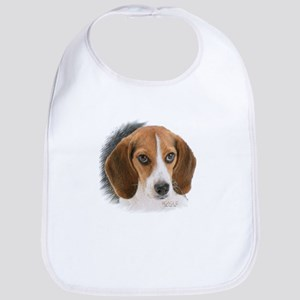 Beagle Close Up Bib