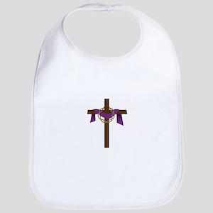 Season Of Lent Cross Bib