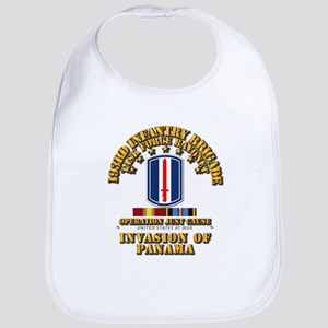 Just Cause - 193rd Infantry Bde w Svc Ribbons Bib