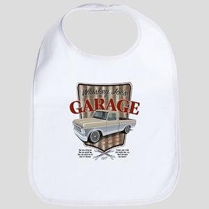 Whiskey Joe's Garage Baby Bib