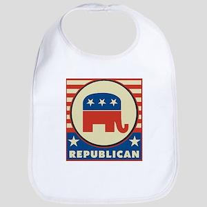Retro Republican Bib