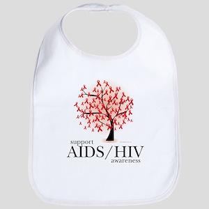 AIDS/HIV Tree Bib