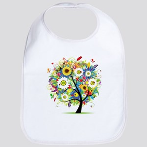 summer tree Bib