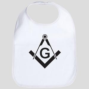 Masonic: Square & Compass Bib