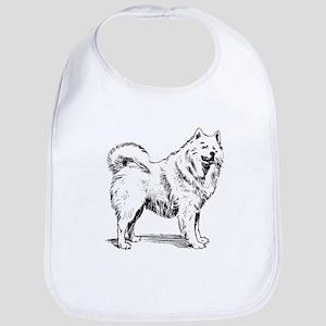 Samoyed dog Bib