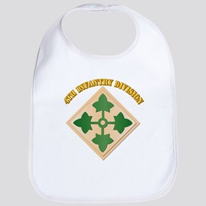 SSI - 4th Infantry Division with text Bib