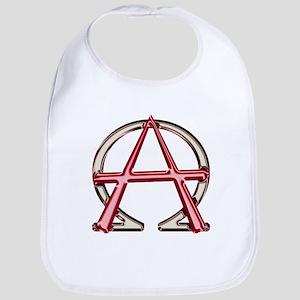 Alpha & Omega Anarchy Symbol Bib