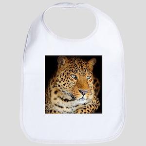 Leopard Portrait Bib