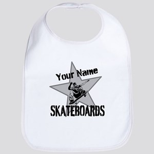 Custom Skateboards Baby Bib