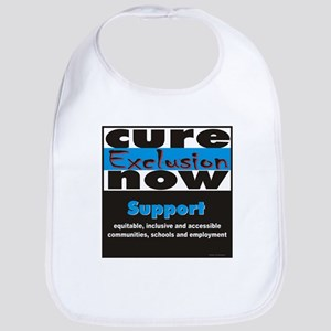 Cure Exclusion Apparel Bib