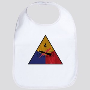 4th Armored Division Vintage Bib