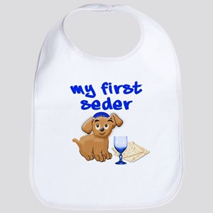 my first Seder Bib
