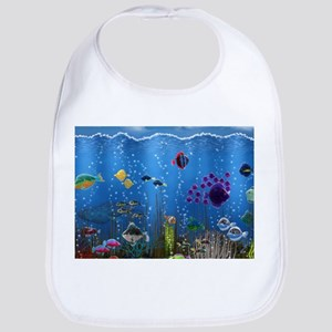 Underwater Love Bib