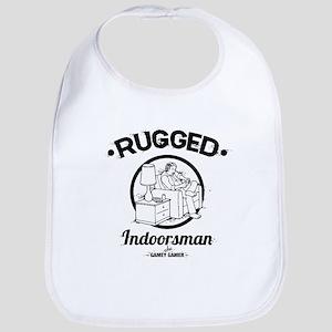 Rugged Indoorsman -218 Cotton Baby Bib