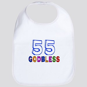55 God Bless Birthday Designs Cotton Baby Bib