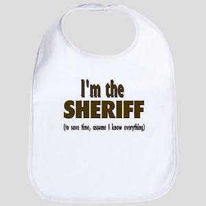 Im the sheriff copy Baby Bib
