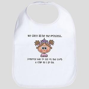 Princess (light brown) - Customize! Baby Bib