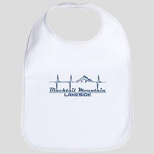 Blacktail Mountain - Lakeside - Montana Baby Bib