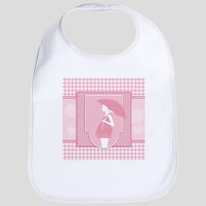 pink pregnancy Bib