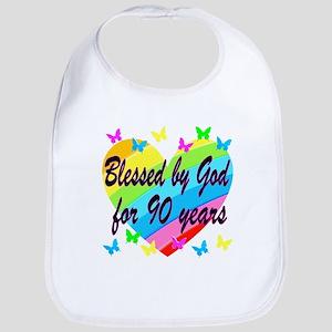 90TH PRAYER Bib