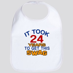 It Took 24 Years To Get This Swag Bib
