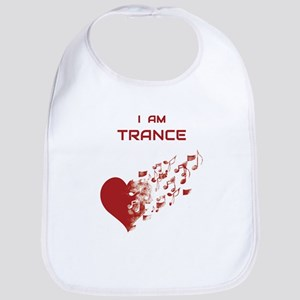 I am Trance Heart Bib