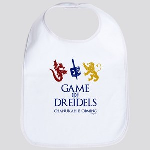 Game of Dreidels Baby Bib