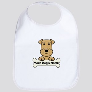 Personalized Airedale Bib