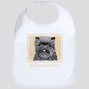 Affenpinscher Cotton Baby Bib