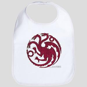 Game of Thrones House Targaryen Cotton Baby Bib